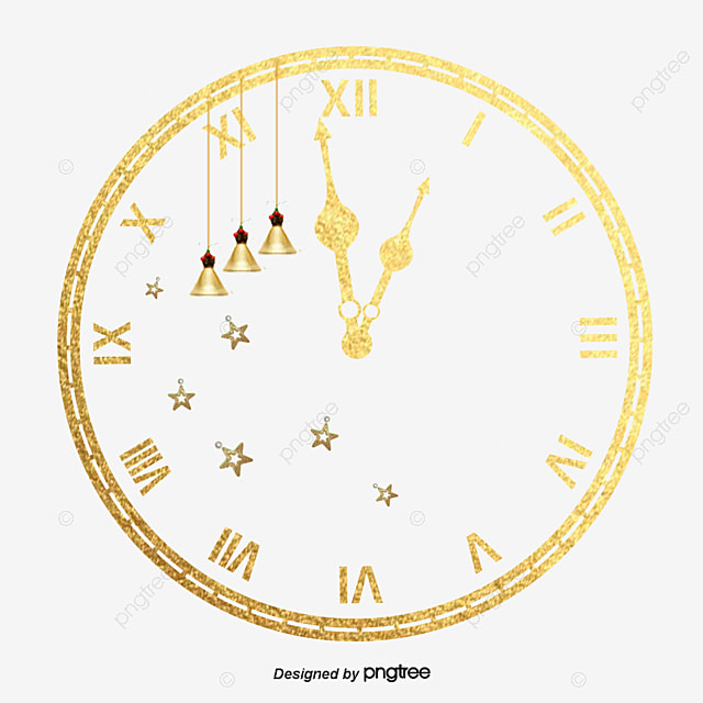 christmas clock clock clipart clock new year png image and clipart