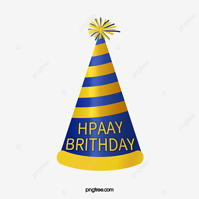 Happy Birthdayhat Birthday Hat PNG Image And Clipart