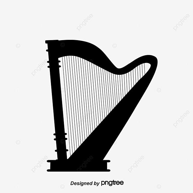 instrument de musique noire silhouette silhouette noir