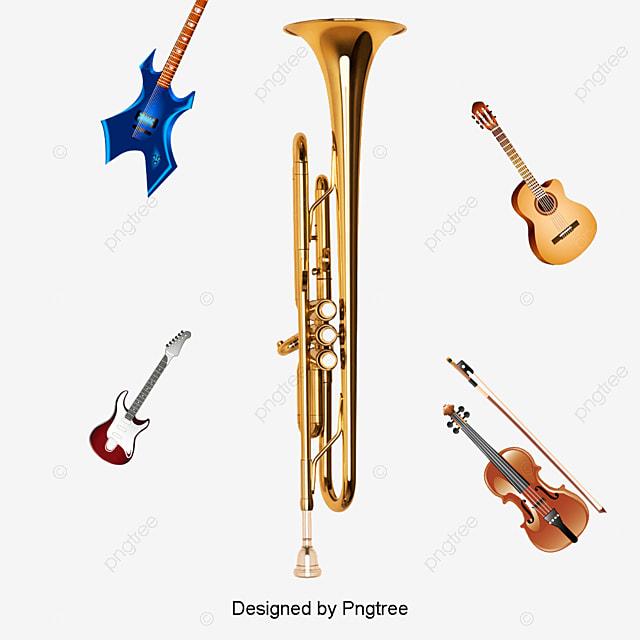الآلات الموسيقية الغربية جمع حر PNG و سهم التوجيه