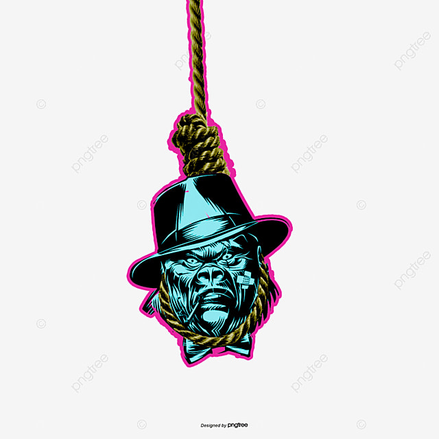 Rope Hanging Skull Bones, Blue, Rope, Suicide PNG and PSD File for ...