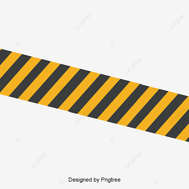 vector yellow black belt barrier warning tape caution tape png rh pngtree com  caution tape vector art