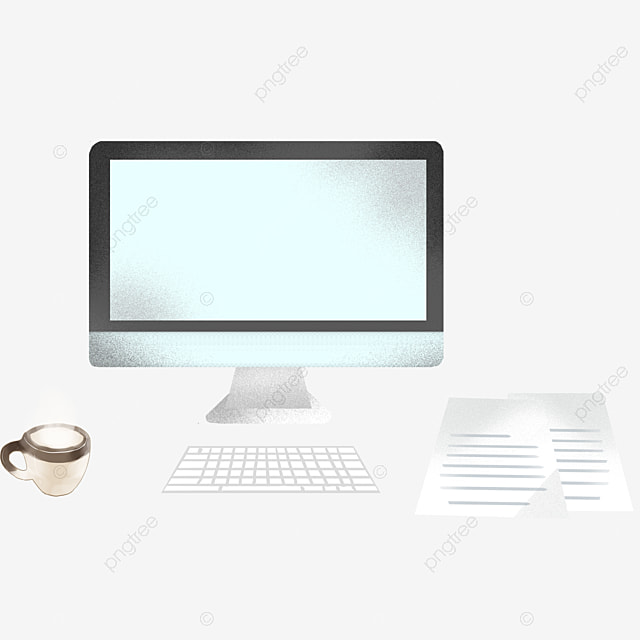 blank computer screen desktop pc phone black png image and rh pngtree com