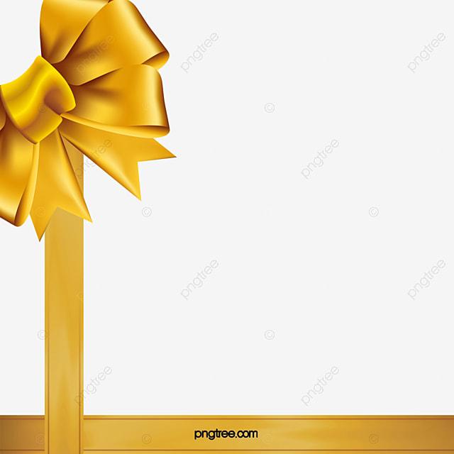 الشريط الذهب ذهبي شريط الهدايا مع Png وملف Psd للتحميل مجانا