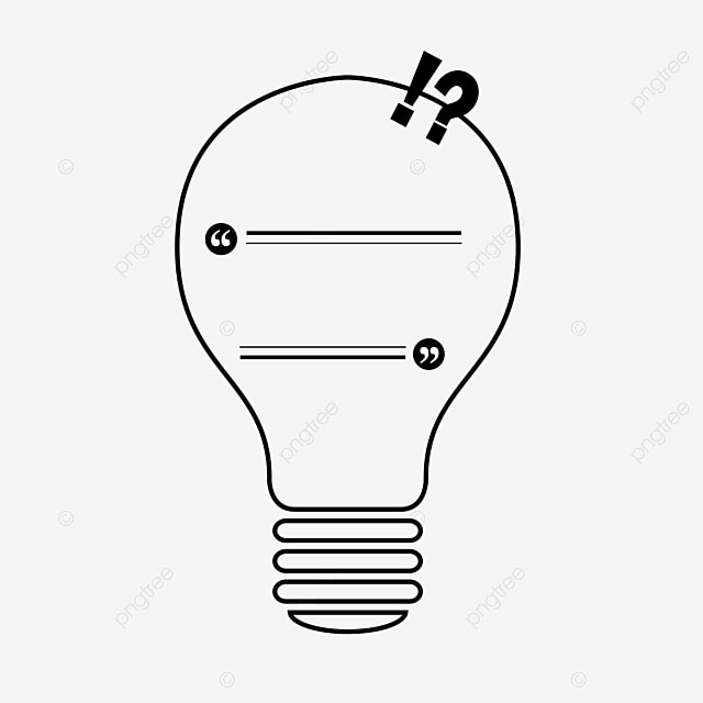 Creative Bulb Light Idea Free PNG Image And Clipart