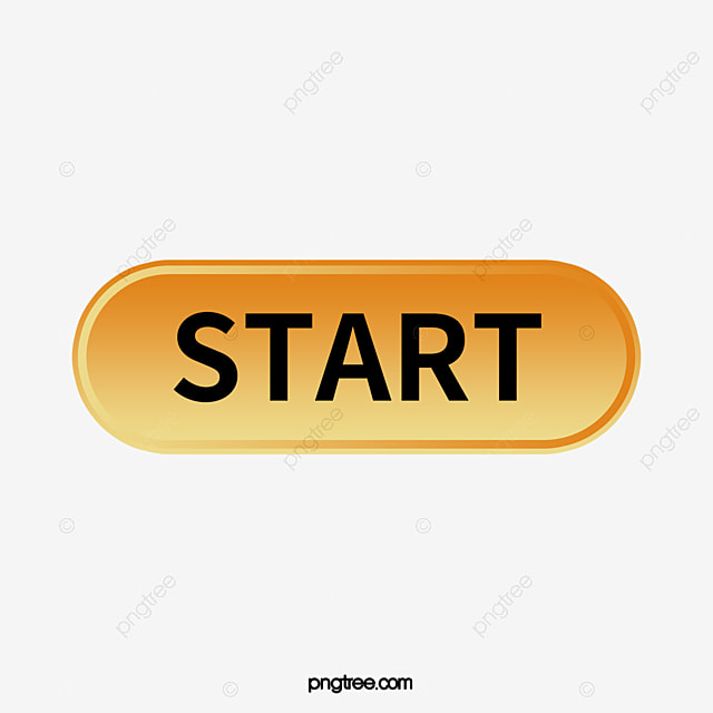 The Start Button, Button Clipart, Start, Button PNG Image