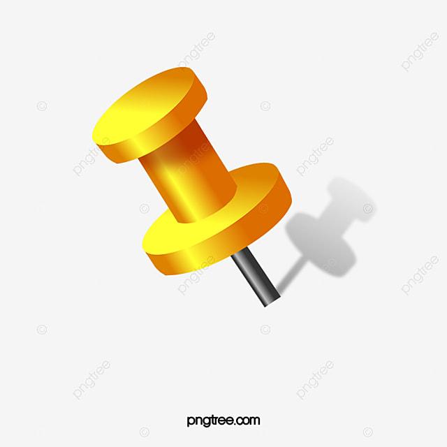 yellow chincheta gratis png y clipart