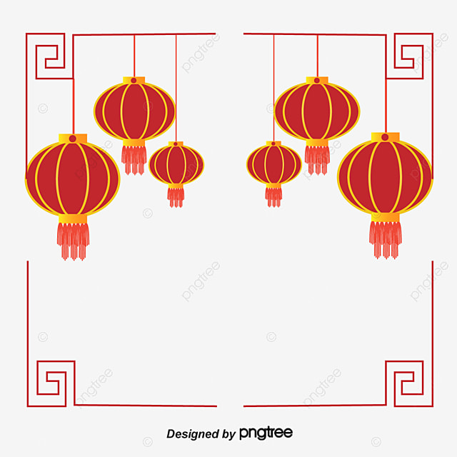Chinese New Year Decoration Chinese Vector New Vector Decoration