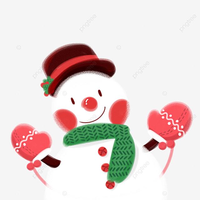 Boneco De Neve De Natal No Dia De Natal Boneco De Neve