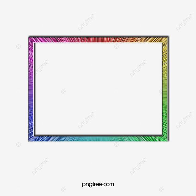 Hermoso Marco, Colorido, Espectro, La Luz Imagen PNG para Descarga ...