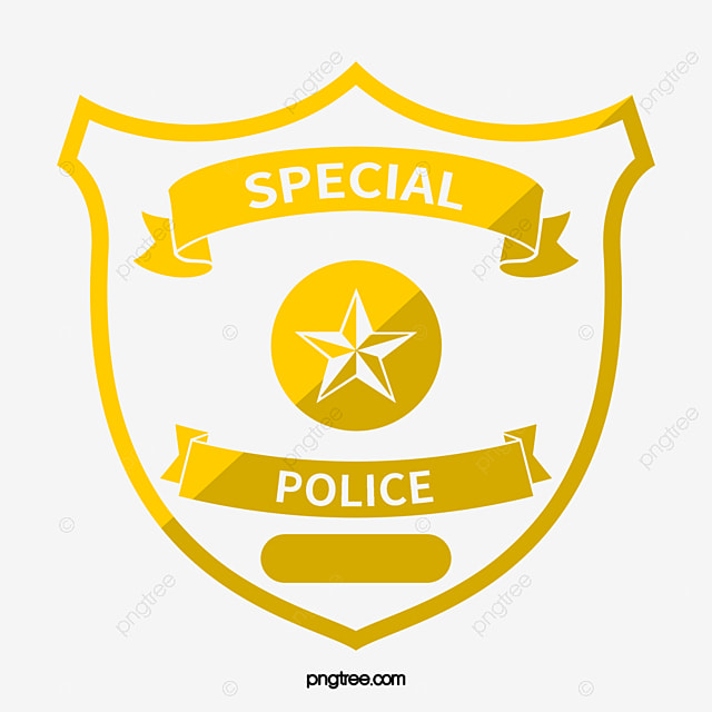 Police Badge Symbol Choice Image Meaning Of Text Symbols