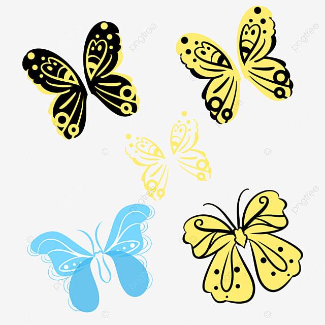 papillon de couleur gratuit png et clipart - Image De Papillon