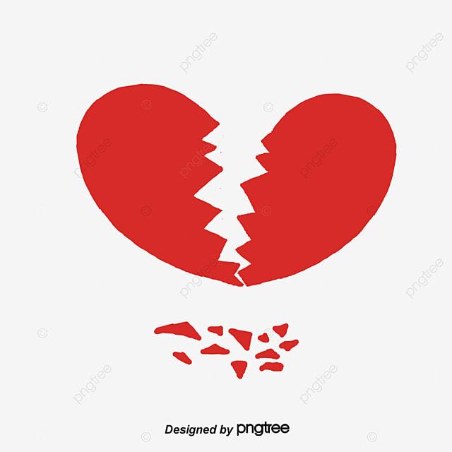 Corazon Roto, Corazón, Corazon Roto, Corazones PNG y Vector para ...