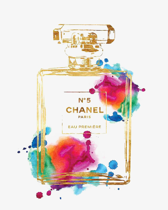 drawing chanel chanel perfume luxury png image for free