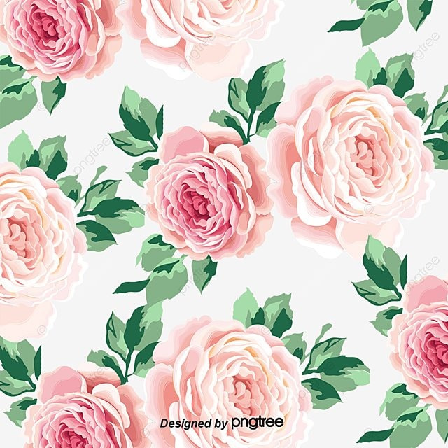 Watercolor Floral Background Vector Graphics Watercolor Vector