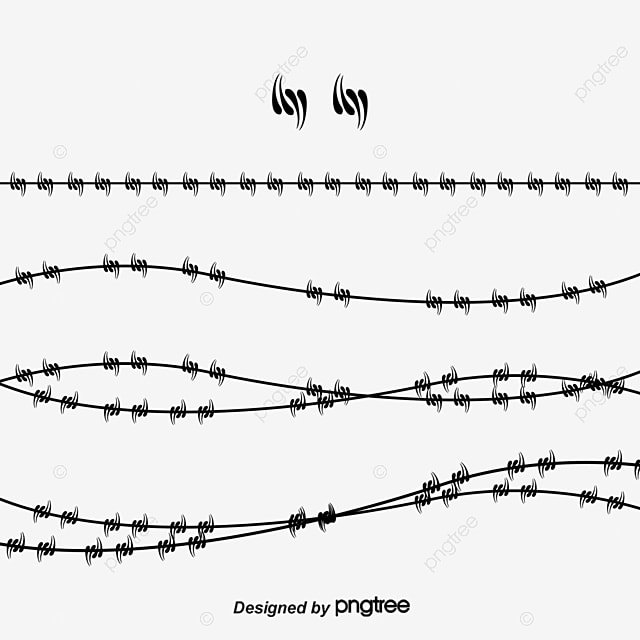Vector Barbed Wire, Fence, Quarantine Area, Fence PNG and Vector for ...