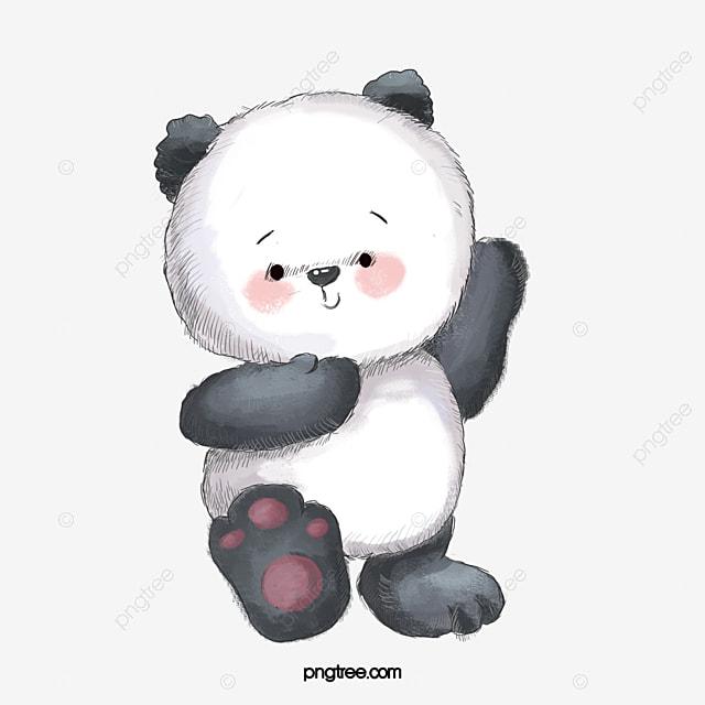 無料ダウンロードのためのかわいい熊 イラスト素材 小熊 手描きpng画像素材