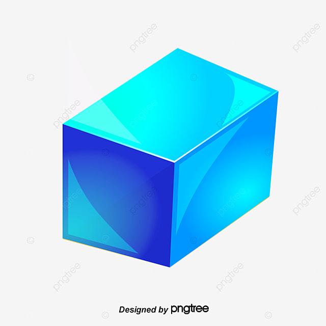 bleu de cube cube de la bo u00eete 3d cube fichier png et psd