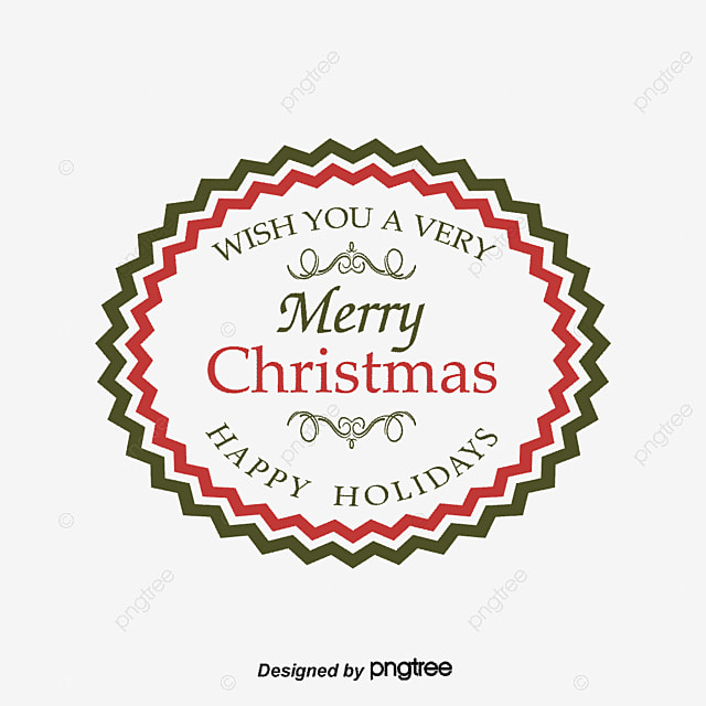 merry christmas wordart vector christmas vector christmas vintage label christmas retro pattern png