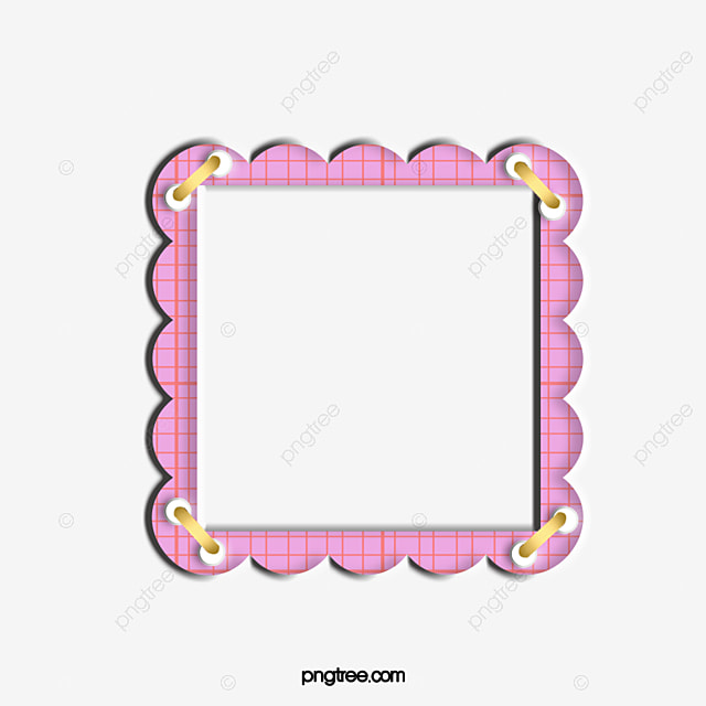 Cute Pink Border, Cute Clipart, Border, Frame PNG Image and Clipart ...