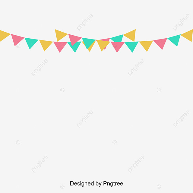 Happy Birthday Small Banner, Banner, Happy Birthday, Color Free PNG And  Vector