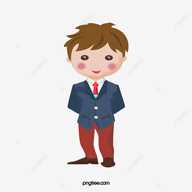 Cartoon Boy Boy Cartoon Vector Png And Vector With