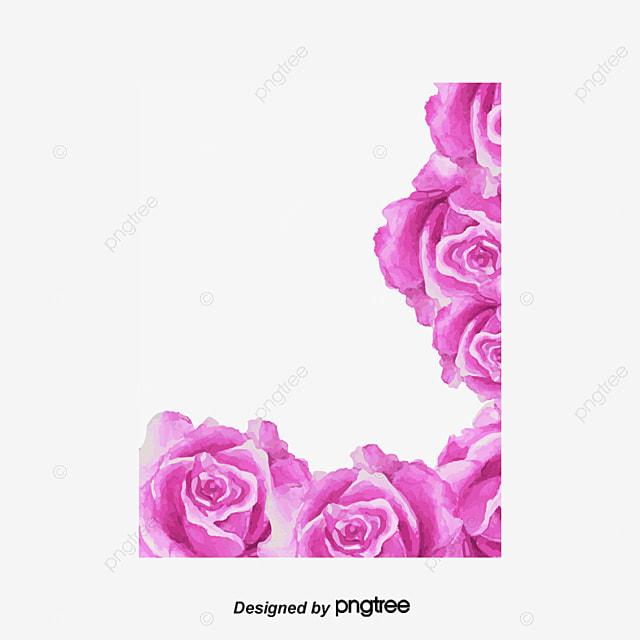 purple rose flower hd material rose clipart flower clipart flower