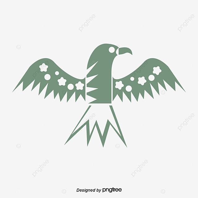Yingtou Tribal Con Elementos Vectoriales águila Cabeza De Tribu Los