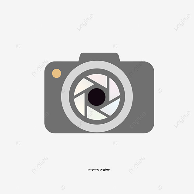 Vector Camera Logo Wood Golden Business PNG And