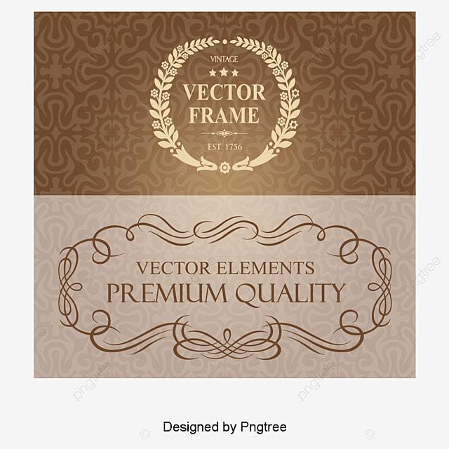 vintage lace frame redondo e quadrado  moldura  retro  o floral border vector image floral border vector free