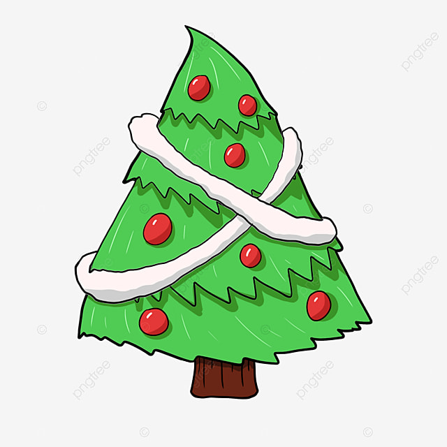 Red ribbon christmas tree christmas tree red star for Red ribbon around tree