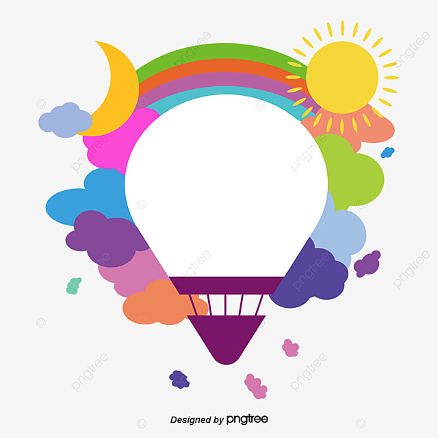 Hot air balloon vector choi hot air balloon flat png and vector for free download