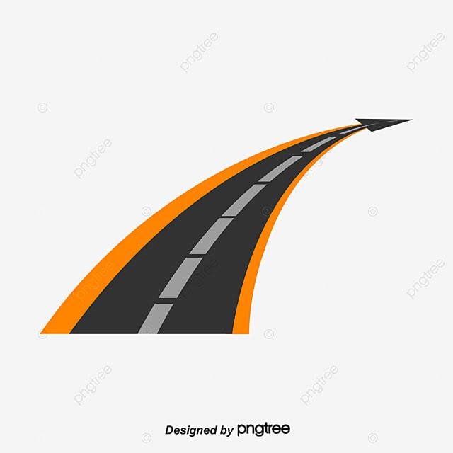 la conception de logo logo design cartographie la route fichier png et psd pour le