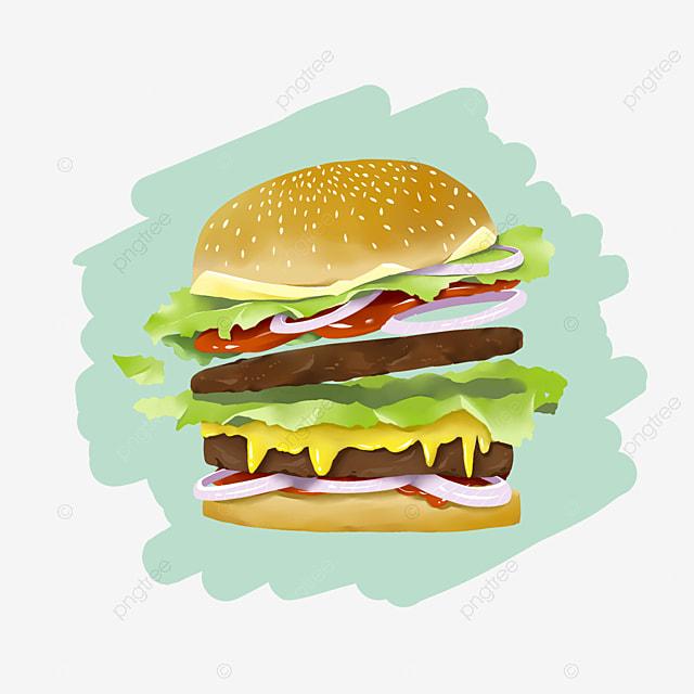 delicious burgers kfc new taste hamburger png image and