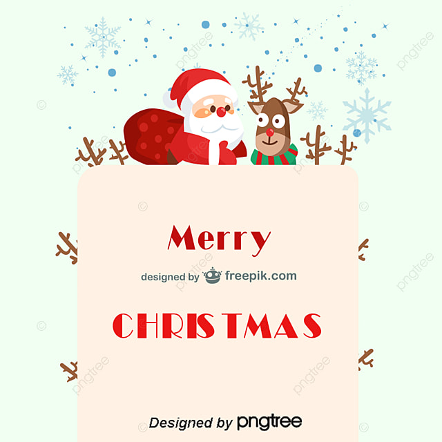 Santa claus with reindeer png