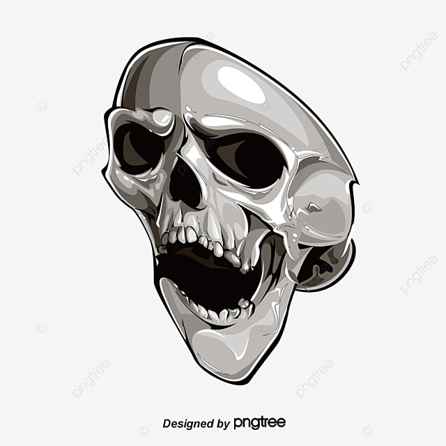 Skull Bones Bone Tooth Skull Png And Psd File For Free Download