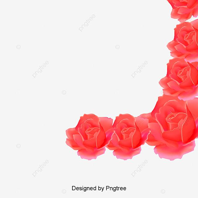 Red rose petals vector material, Red Rose Petals Vector ...