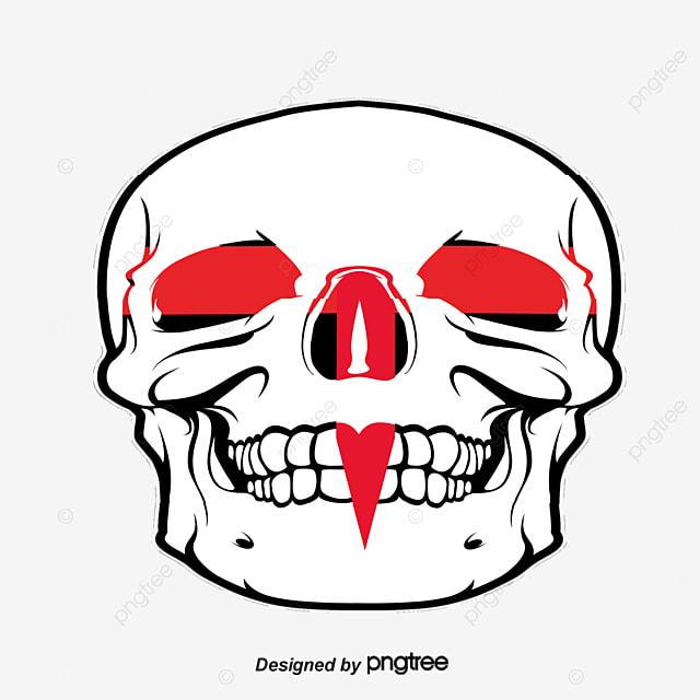 a cruz vermelha de caveiras caveira a cruz a cruz vermelha arquivo