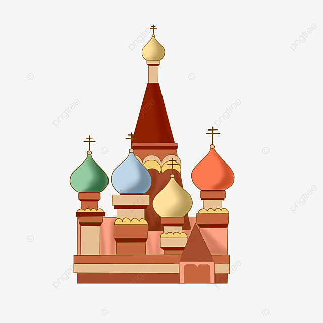 Russia Sign Landmark Sign Clipart Russia Decorative