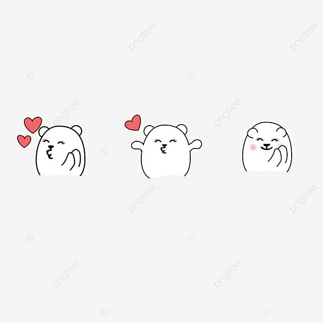 Pintado A Mao Com Desenhos Animados Urso Coracao Animal Dos Desenhos Animados Desenho Ursinho Lindo Ursinho Imagem Png E Psd Para Download Gratuito