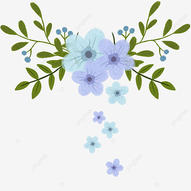elegant purple flowers background material purple