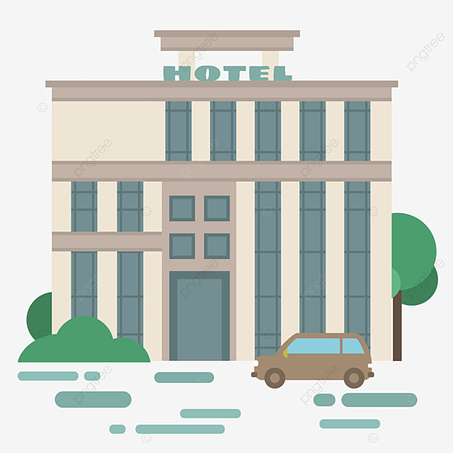 Vector Hotels Hotels Material Vector Material Png And Vector For