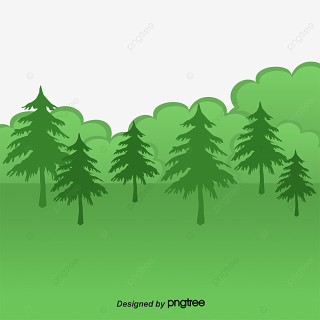 vector painted deep forest  vector  hand painted  deep free pes clipart free eps clip art downloads for cosmetic