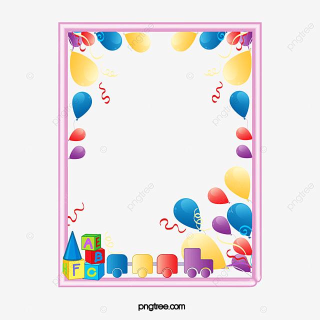Children S Day Romantic Frames Frame Material Children S Day Toy