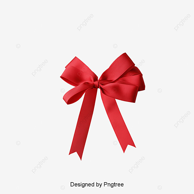 ruban rouge cadeau ruban cadeau fichier png et psd pour le