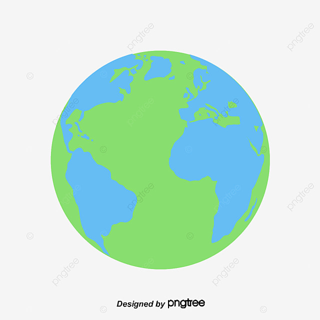 earth vector material earth cartoon vector png and vector for rh pngtree com earth vector image earth vector logo