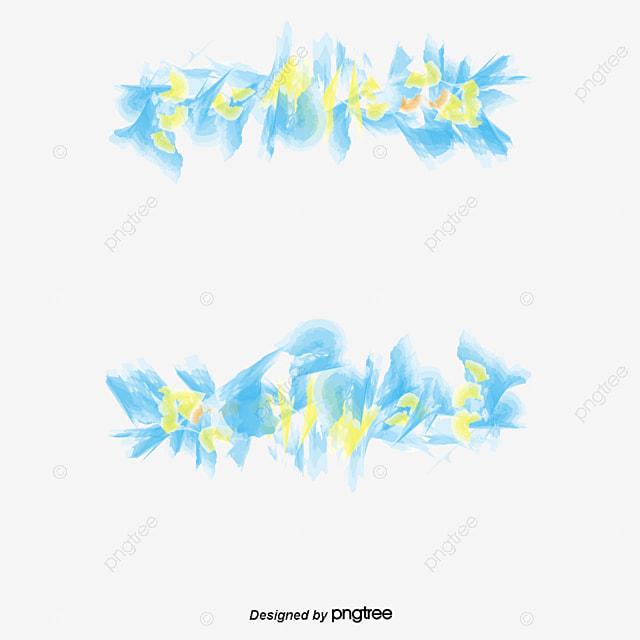 Vector Patron De Azul Azul La Nieve Flores Png Y Vector Para