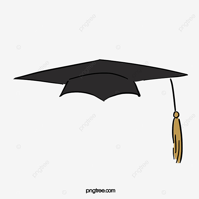 Black Bachelor Cap, Black, Bachelor Cap, Bachelor Degree ...