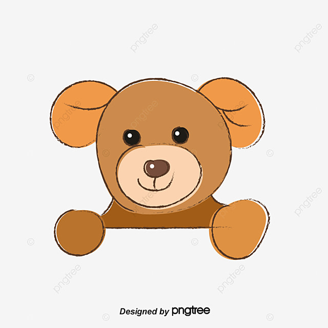 Brown Teddy Bear, Brown, Teddy Bear, Doll PNG Image and ...