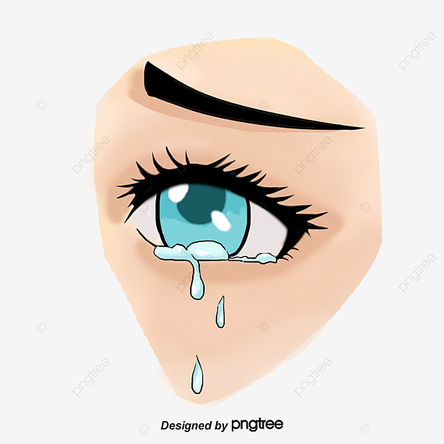 Watering Eyes Eye Tear Cry PNG And PSD File For Free Download Custom Crying Images Download